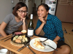 Cheese Plate with Angela
