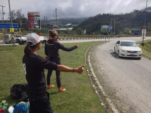 Hitchhiking from Cameron Highlands to Ipoh