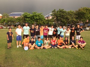 X-Cross Ultimate in Ipoh, Malaysia moments before a downpour