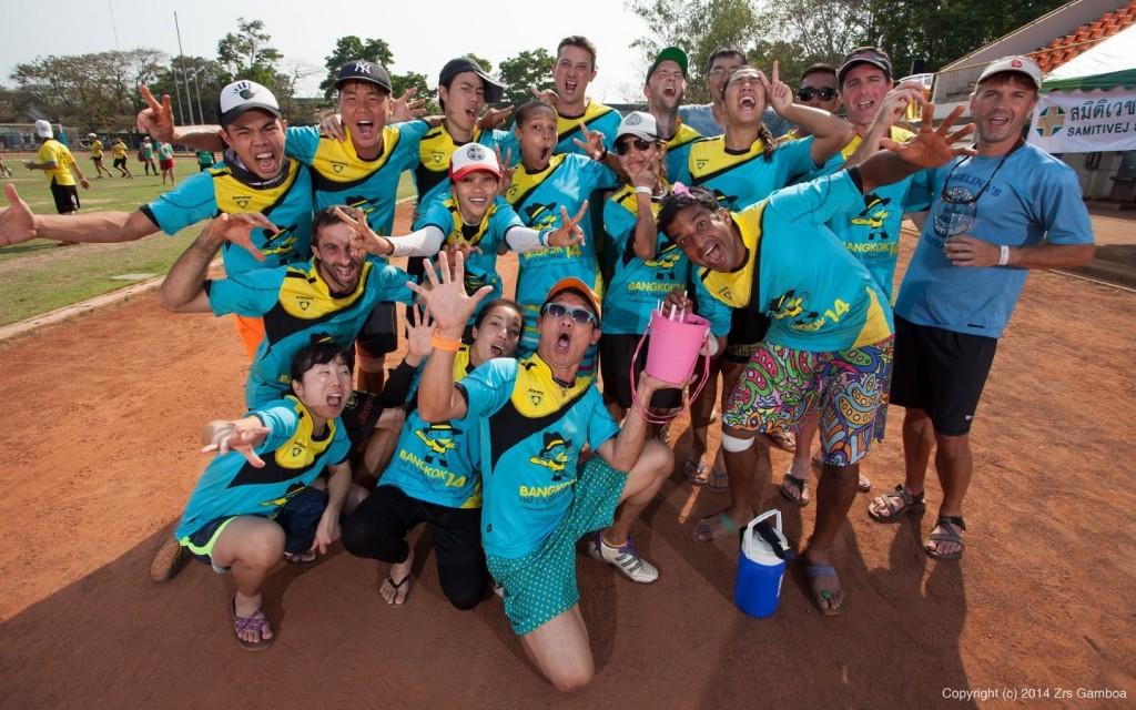 bangkok hat team: buckets for breakfast