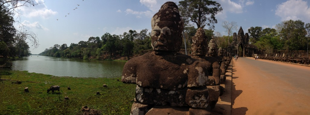 Sometimes the iPhone impresses me with it's panorama mode.