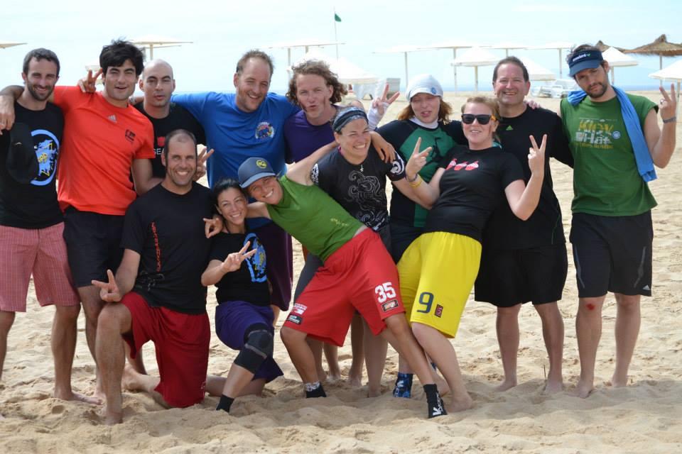 My team at Bar do Peixe -- Terrible Twos!
